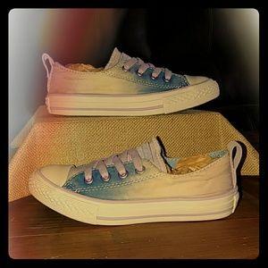 Tie dye Converse